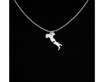 Italy Necklace - Italy Jewelry - Italy Gift