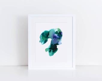 Loom | Watercolour Print