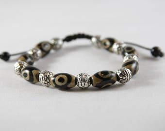 Sea stone boho style bracelet