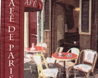 CAFE DE PARIS 1 towel paper 192