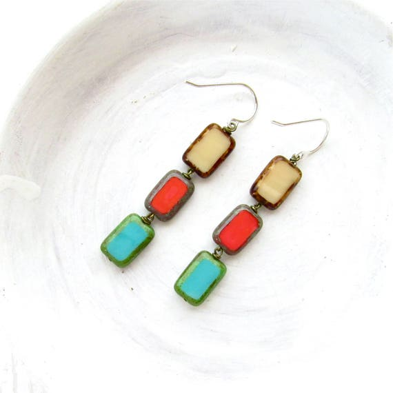 WHOLESALE LISTING // Stained Glass Earrings // ESG
