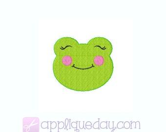 Mini Frog Digital Embroidery Design Instant Download