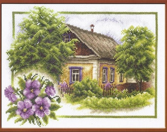 Counted Cross Stitch Kit Rural Summer art. PS-0322