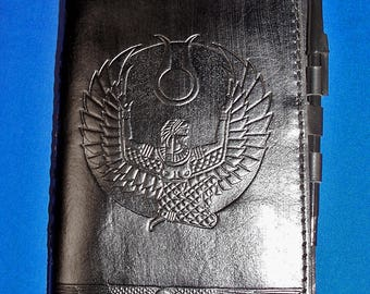 Leather Isis Egyptian Goddess Book of Shadows