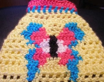 SPRINGTIME BUTTERFLY - Made to order - 2 to 20 lb dogs