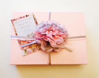 Beautiful Maid of Honour Bridesmaid Gift Set