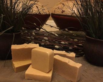 100% Organic Wheatgerm Oatmeal Chamomile Olive Oil Soap