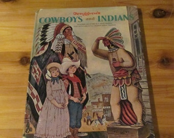 1968 Children's Bokks Cowboys and Indians