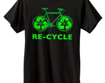 RE-CYCLE Bike T-Shirt | Eco Friendly T-Shirts | U.S. Custom Ink