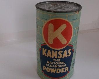 Kansas-The National Cleansing Powder