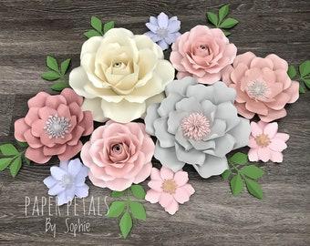 10 Piece Nursery Flower Set