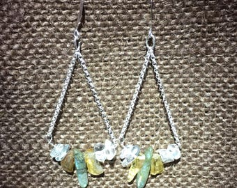 Forest Earrings by Galactic Gaia Gems
