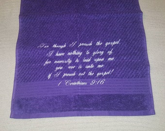 SALE....New! Embroidered Hand towel