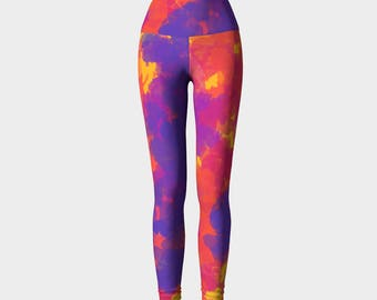 Rio Yoga Leggings, Women's Yoga Leggings, Leggings, Yoga Leggings, Yoga Pants, Printed Leggings, Gift for her
