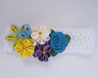 Kanzashi Flower Headband