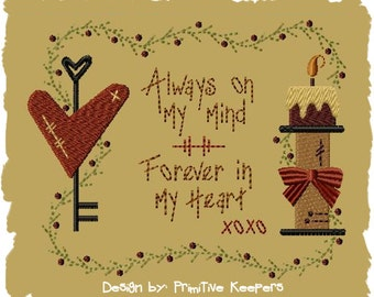 Always On My Mind-Version 1--5x7-INSTANT DOWNLOAD