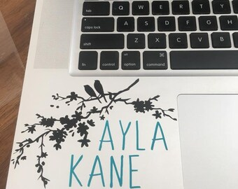 Personalized Laptop Decal