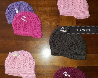 Ribbed Newsboy Hat READY TO SHIP (Newborn 0-3 Mth 3-6 Mth 1-2 Yr 2-4 Yr) Cute Girl or Boy Gift Billed Cap Discount