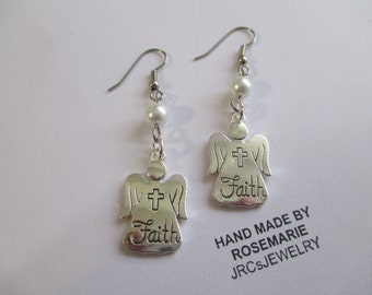 Sale Angel Of Faith Earrings