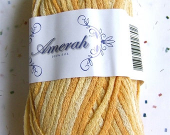 Amerah Silk Yarn - Citrus