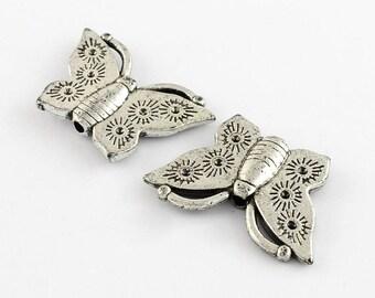 Acrylic Butterfly bead