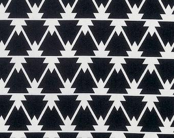 20% OFF! Joel Dewberry FABRIC - Cali Mod Sateen - Trinity in Black