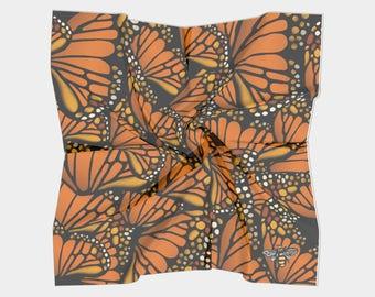 Square Scarf- Monarch (2 Sizes)