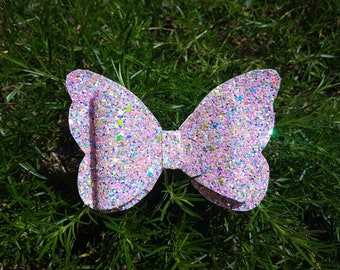 Butterfly Bow / Hair Bow / Pink / Summertime / Kid's Bow / Infant Bow