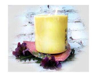 Handmade ceramic plate - triangle plate - decor ceramic plate - stoneware plate - candle dish - potpourri dish - # 166