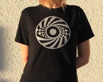 Psy Eye - Crop Circle T-Shirt