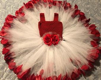 Crochet Petal Dress