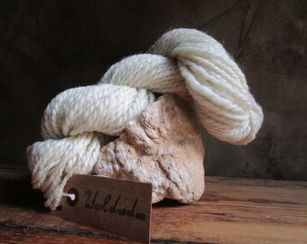 "The spinning wheel ""Still"" hand-spun wool"
