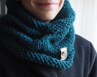 Petrol blue scarf