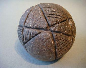 Ceramic Ball rough chamotee
