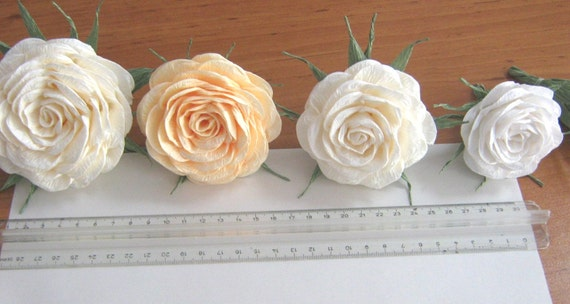 10 paper flowers decor Wall large giant crepe arch paper
