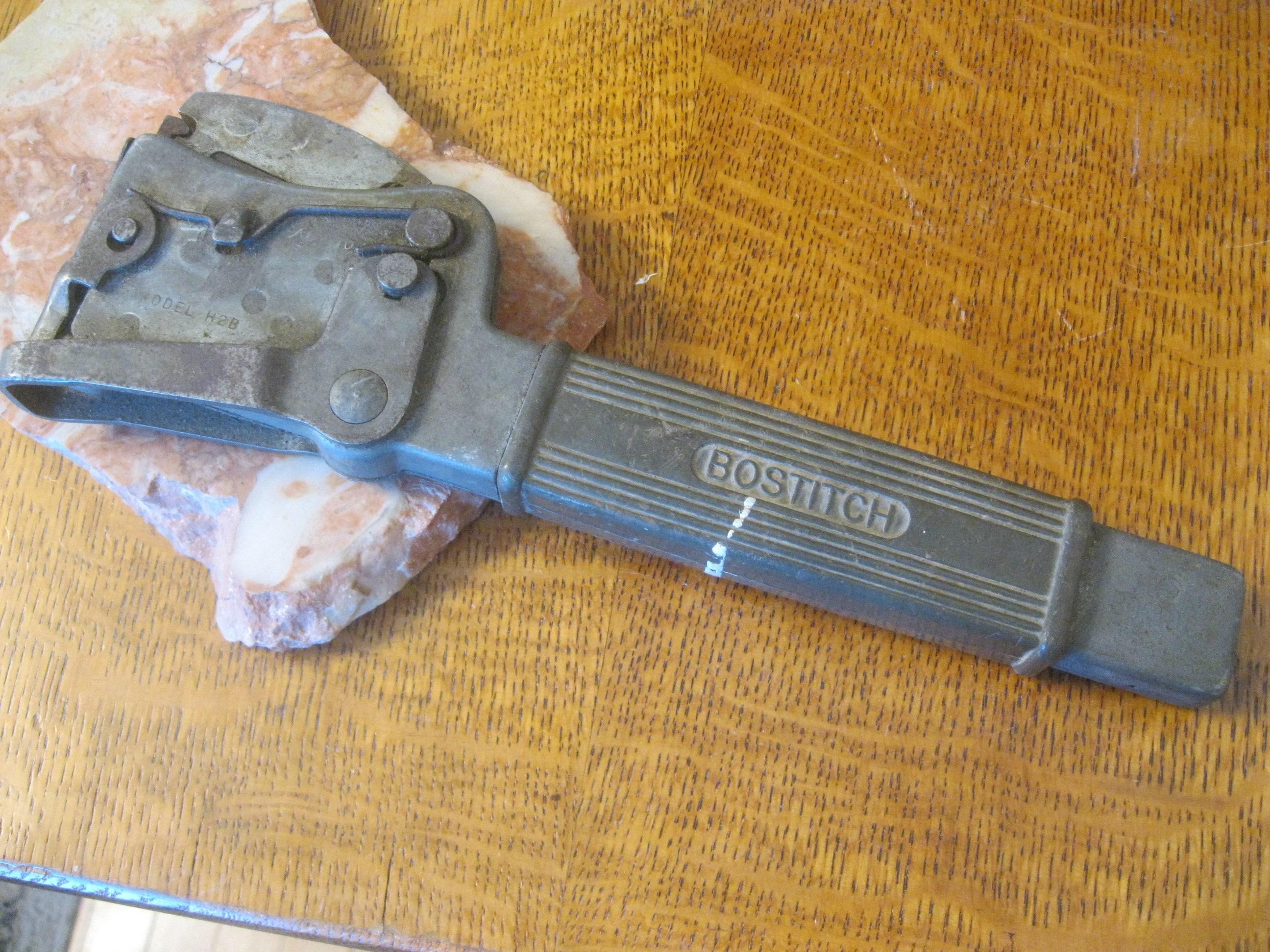 Hammer Tacker Hefter Bostitch Heavy Duty Hammer Hefter