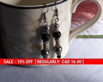 Beaded Earrings (2 pairs)