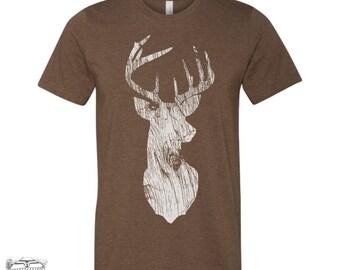 Mens DEER T Shirt s m l xl xxl (+ Color Options) custom