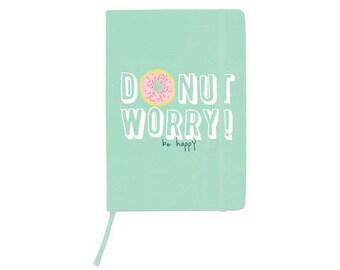 Kaisercraft Medium A5 Journal Donut Worry