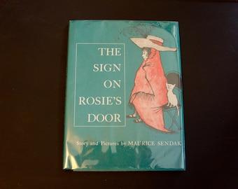 The Sign on Rosie's Door - Maurice Sendak - Hard Back - Vintage Children's Book -
