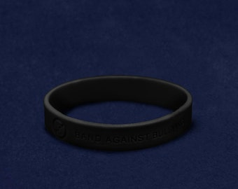 Anti Bullying Silicone Bracelet (RE-SILB-BUB)