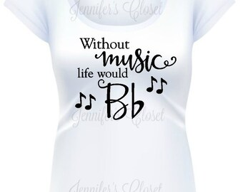 Clothing gift for her, Ladies t-shirt, Mother's Day Gift, Music Shirt, Musician Gift, Music Teacher, Music lover, Gift for Musicians, Music