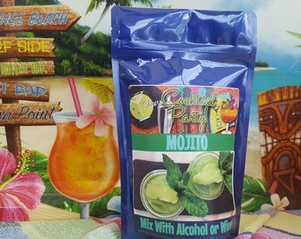 MOJITO Wine Slush Mix| Margarita| Cocktail Party| Wine Gift| Gifts for 21| Wine Drinks| Birthday Gift| Gifts For Her| Drink In Hand