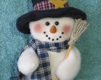 "Snowman pattern:  ""Winster - #475"