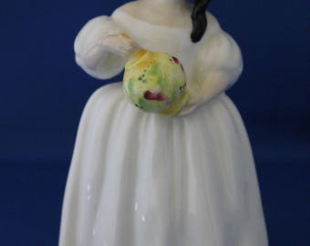 Vintage Royal Doulton Ceramic Porcelain Figure Mandy HN 2476 By M. Davies 1982-1992 4.5 Inches High