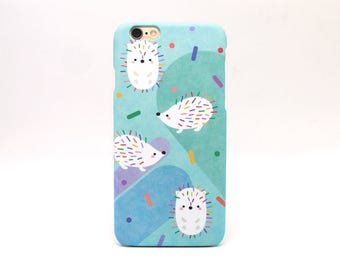 Hedgehog iPhone 8 Plus case, iPhone 8 case, iPhone X case, iPhone 7 case, iPhone 7 Plus case, iPhone 6 case, iPhone 6 Plus case, iPhone SE