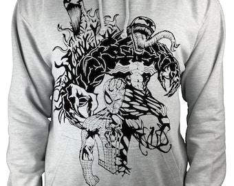 Venom Spider-Man jacket. Carnage, Marvel inspired Original design