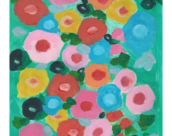 """Limited Edition Fine Art Giclee Print """"Barbados Blooms"""""""