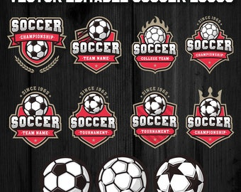 Soccer Football Logo Templates 2