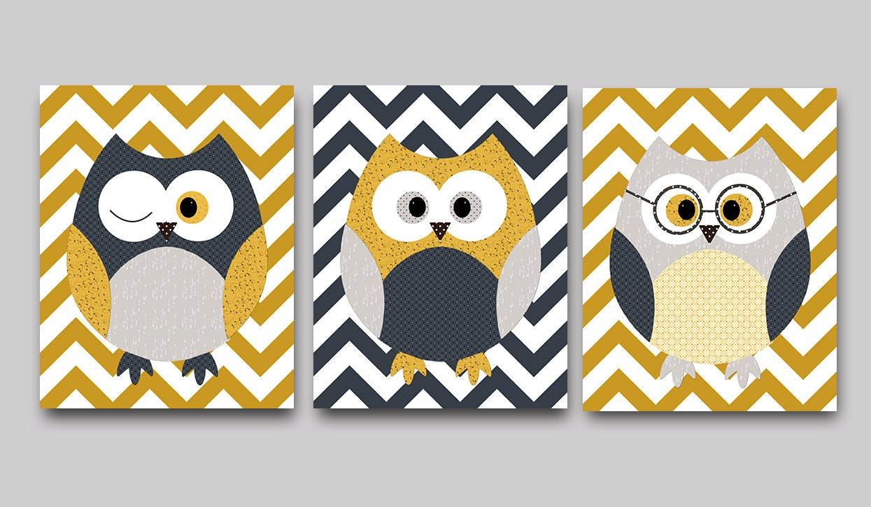 Funky Owl Wall Decor Pattern - The Wall Art Decorations ...